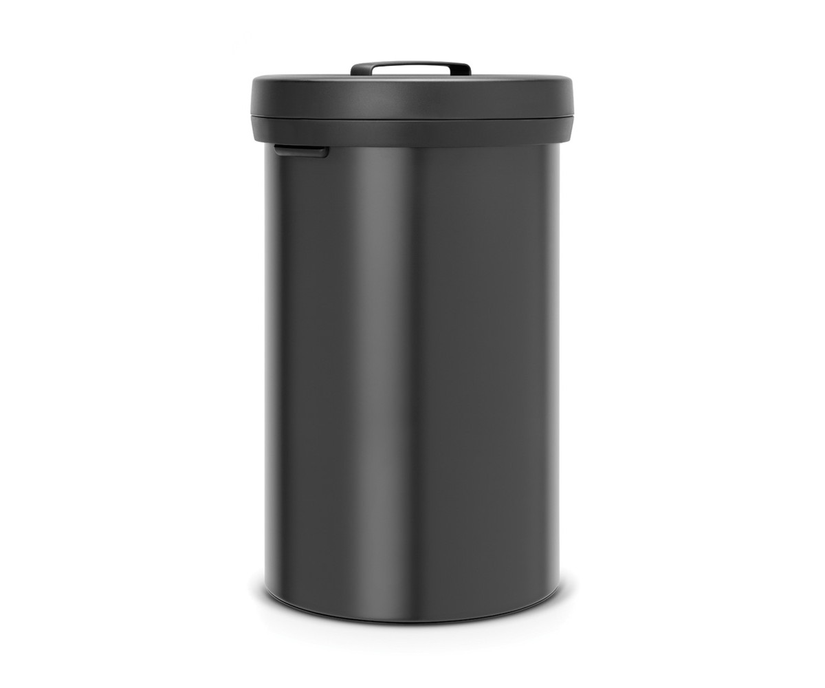 Big Bin 60 ltr Matt black - Dark Grey låg - Brabantia