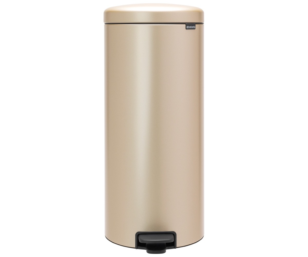 Brabantia Pedalspand 30 liter - Champagne