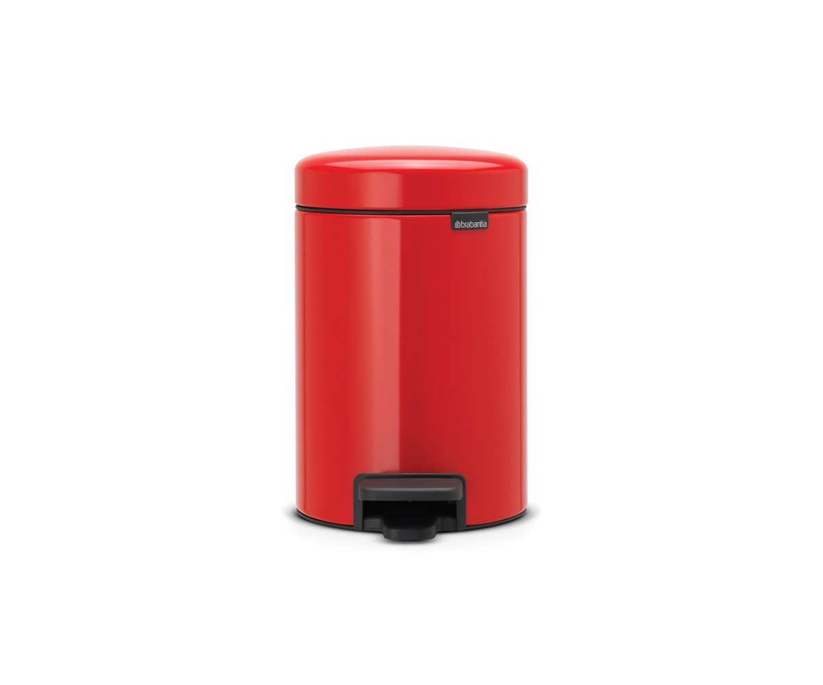 Brabantia Pedalspand 3 liter - Passion Red