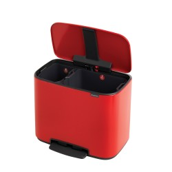Bo Pedalspand 11+23 L.- Passion Red - Brabantia