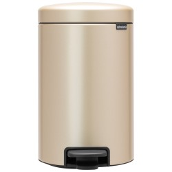 Brabantia Pedalspand 12 liter - Champagne