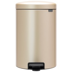 Brabantia Pedalspand 20 liter - Champagne