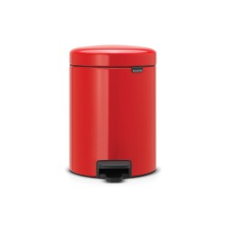 Brabantia Pedalspand 5 liter - Passion Red