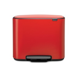 Bo Pedalspand 36 L.- Passion red - Brabantia
